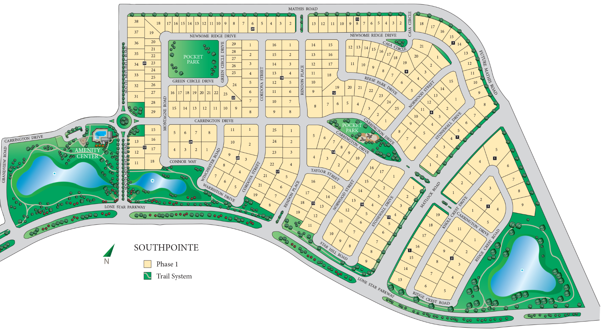 South Pointe Phase I Siteplan