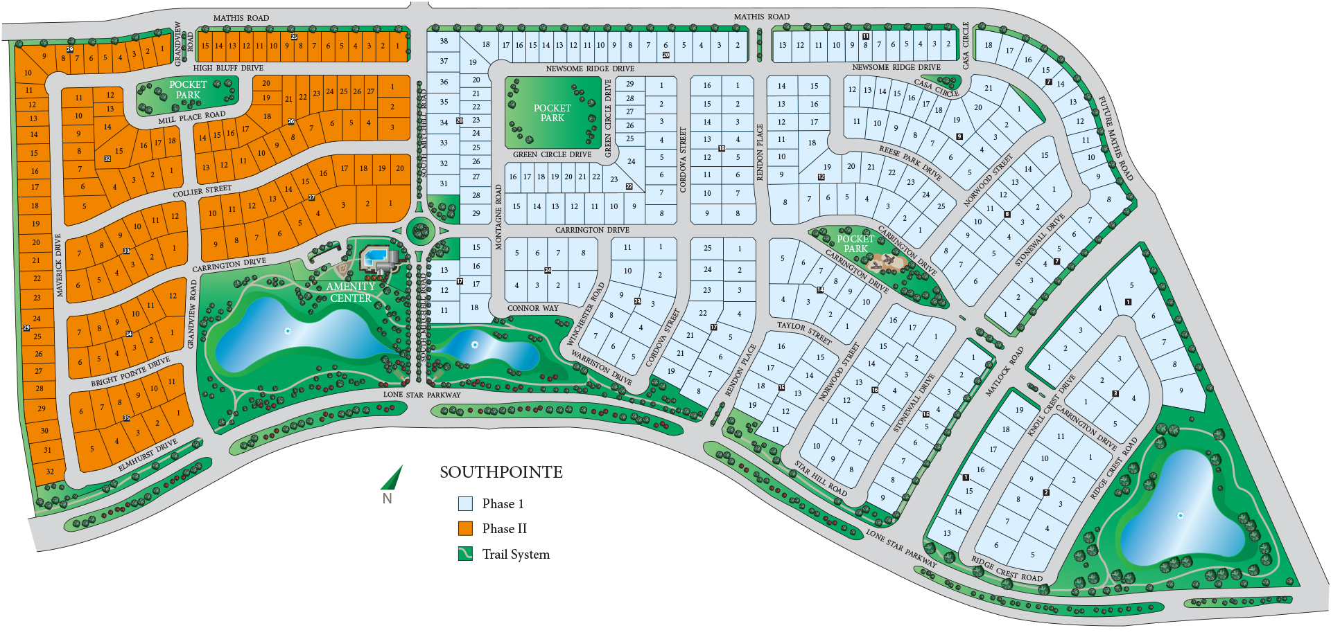 South Pointe Phase II Siteplan